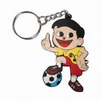 Quality Soft PVC Keychain, Custom Design with Logo or Brand, Perfect for Promotion Gifts for sale