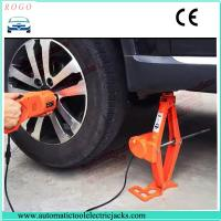 Quality 3 tons electric lift jack and impact torque wrench with 12-45cm lifting height for sale