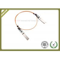China 40GbE SFP Fiber Module Active Optical Cable 1 Meter OM2 / OM3 Type for sale