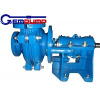 Quality 50B-L Low Abrasive Centrifugal Slurry Pump horizontal double shell axial suction for sale