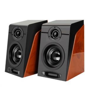 China Mini 920 HIFI Desktop Speaker , USB2.0 Subwoofer Sound High End Bookshelf Speakers on sale