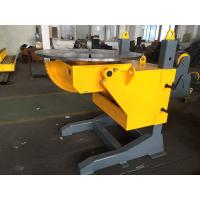 Quality Gear Tilt Welding Rotators Positioners 1200mm Table Diameter for sale