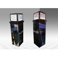Quality PVC foldable cardboard cutout standee display Glossy varnishing for sale