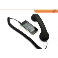 Quality Black / Purple / Pink Retro Handset For Iphone, Anti Radiation Handset 22cm*3.5cm*2cm for sale