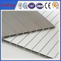 Quality 6000 series aluminium louvre extrusion factory, roller shutter doors for furniture for sale