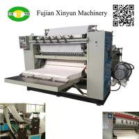 Quality Automatic box draw facial tissue paper machine production line for sale