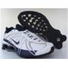 Mens Nike Shox OZ white/blue for sale