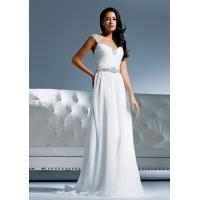 Quality Aline straps Low back wedding dress Bridal gown#dq4657 for sale