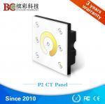 Quality P2 dc12V 24V CCT LED dimmer; color temperature panel led controller for sale