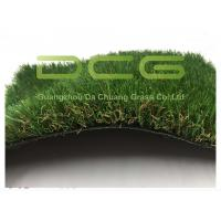 Quality Rectangle Yarn Soft Artificial Grass For Yard , Synthetic Putting Turf for sale