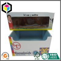 Quality Toy Sets Corrugated Display Stand; Color Printed Cardboard Display Box for sale