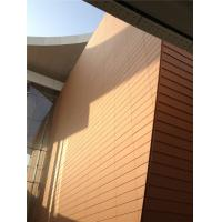 China Terracotta Ceramic Ventilated Facade , 8000N Strength Clay Soundproof Wall Panels on sale