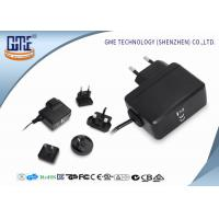 Buy Interchangeable Type Desktop 12v Power Adapter UL FCC GS CE RCM Approved at wholesale prices