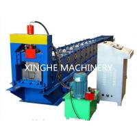 Quality Gutter Cold Roll Forming Machines / Square Type Downpipe Former Equipment for sale