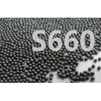 China Surface Treatment Cast Steel Shot S660 Round Balls Metal Black Color on sale