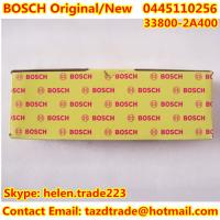 Quality BOSCH Original and New Injector 0445110256 / 338002A400/33800-2A400 for HYUNDAI,KIA for sale