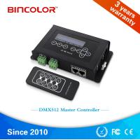 China High quality Bincolor  DC9V RF remote RGB LED light switch dmx512 contro led DMX Controller, DMX master controller on sale