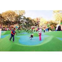 Quality Custom Playground Rubber Flooring , Environment Friendly Rubber Granules For Playground for sale