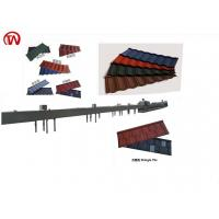 China L Shape  Roof Tile Roll Forming Machine 0.4mm Thickness CE ISO Certificated on sale