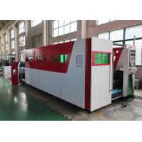 Quality 1kw CNC Fiber Laser Cutting Machine / Stainless Steel Metal Laser Cutting Equipment for sale