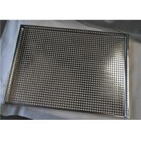 China Durable Stainless Steel Wire Mesh Tray For Food Industry , Heat Resistance on sale