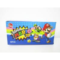 Quality Super Mario CC Stick Candy With Lovely 3D Super Mario Pictures Toy for sale