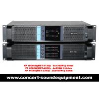 Line Array Sound System , FP 10000Q 4 Channel Switch Mode Amplifier 4x1300W for sale