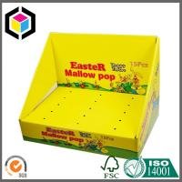 Quality 100% Recyclable Color Print Corrugated Cardboard Display Box; Pens Display Box for sale