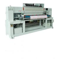 China 2200rpm Sewing Quilting Embroidery Machine Head Moved With 2 Rows Shuttle on sale