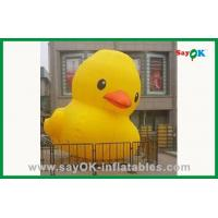 Quality Yellow Duck Inflatable Cartoon Characters for sale