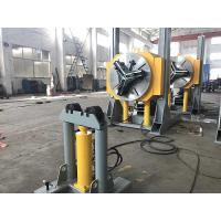 Quality Hydraulic Height Adjustment Pipe Welding Positioners Automatic Lift Chuck Positioner 3T Load Capacity for sale