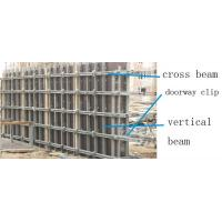 China Concrete metal shuttering formwork building system with adjustable vertical beam on sale