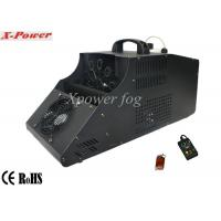 Quality 110 - 130v Single Wheel Stage Fog Machine , 8m Output Distance for sale