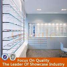 new design mdf optical shop decoration display/optical shop interior design for sale