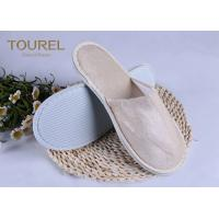 Quality Light Pleuche Disposable EVA Terry Towelling Slippers 29*11cm for sale