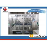 Quality Carbonated Beverage Filling Machine 4.2KW , Commercial Juice Bottle Filling Machine for sale