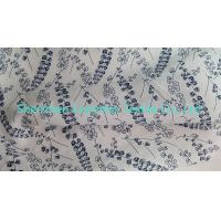 """Quality Width 51"""" Cotton Poplin Ramie Linen Fabric with All Over Print for sale"""