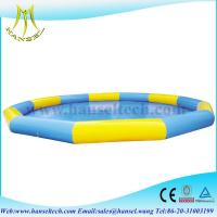 Quality Hansel Commercial Grade Inflatable Water Pool For Water Ball Or Paddle Boats for sale