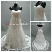 Quality white/Ivory Lace wedding dress bridal gown #AS1064 for sale