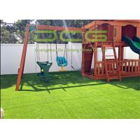 Quality Gauge 5/8 Inch Artificial Grass Landscaping , Artificial Turf For Playgrounds for sale
