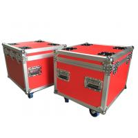 Quality Red Rack Flight Shockmount Rack Case Waterproof Standard For Audio Equipment for sale