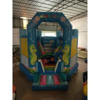 Quality Classic Aquatic Animals Commercial Inflatable Jump House Undersea World Ocean Style for sale