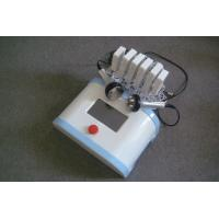 China 6 Paddles Lipo Laser Machine with Cavitation + Monopolar Rf for sale