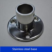 Quality Boat Hand Rail Fittings 90 Degree 7/8''Round Stanchion Base- 316 Stainless Steel for sale