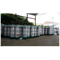 Quality High Pressure Compressed Air Buffer Storage Tank Stainless Steel Horizontal for sale