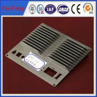 Quality CNC machined die casting aluminum extrusion heat sink(radiator) profiles for sale