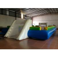 Quality Waterproof PVC fabric Inflatable football Soccer Field Big Party Inflatable Soccer pitch for ball game for sale