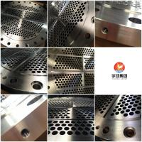 China Heavy Duty Steel Baffle Plate Flanges F304, F316L Grade High Performance on sale