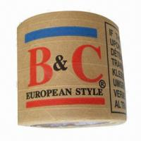 Kraft Paper Gummed Tape with 24 to 76mm Width, Eco-friendly