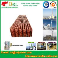 Buy cheap Floor Standing Radiant Superheater In Power Plant , Superheater Tubes from wholesalers